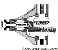 Dana 35 Gear Ratio Chart Thick Gears Vs Thin Gears And Axle Carrier Breaks Explained