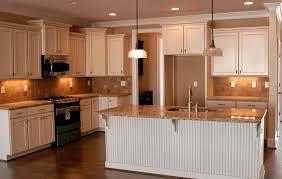 islands kitchen industrial steel rosegold hanging lamp rustic wooden cabinet simple white wallpaint glass jar pendant lamp