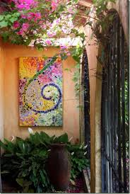 diy projects made with broken tile garden mosaic art best creative crafts easy