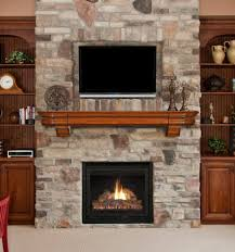 fireplace designs with brick stone fireplace tv wall mount