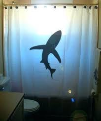 jaws shower curtain lovely shark bathroom decor for shark shower curtain kids bathroom decor by shark jaws shower curtain personalized