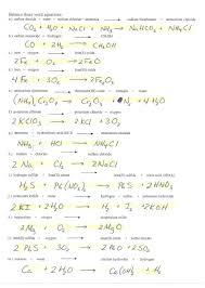 beautiful balancing chemical equations worksheet answers elegant 1656380
