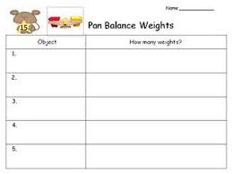 Nice Recording Sheet For Measurement Station On Weight