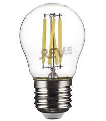 <b>Лампа</b> светодиодная <b>REV 7 Вт</b> E27 <b>филаментная</b> шар G45 4000 ...