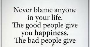 Good Person Quotes Gorgeous Never Blame Anyone In Your Life The Good People Give You Happiness