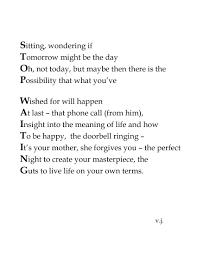 carpe diem poems