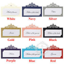 Free Name Cards Details About Free Custom Print Laser Cut Personalized Wedding Party Name Table Place Cards