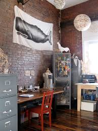 Image Shabby Chic Vintage Industrial Home Office 64c0014d769edbb2dba39793a0aea10406ac7c6e Apartment Therapy Vintage Industrial Home Office Apartment Therapy