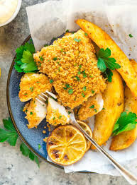 Fish and Chips {Healthy Baked Recipe ...