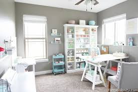 home office makeover. Beautiful Office Chic Office  Coral And Mint For The Girl Boss IKEA Finds In Home Makeover E