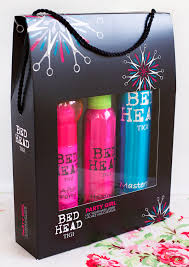 tigi bed head party gift pack