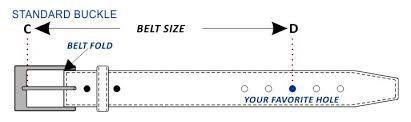 How To Measure Your Belt Size Casanova1948