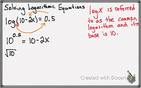 5 5 solving exponential equations common logarithm
