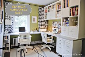 home office for 2. Brilliant Home Home Delightful Ikea Office 3 Throughout For 2 N
