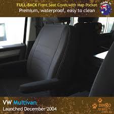 custom fit waterproof neoprene volkswagen multivan t5 t6 full back front seat