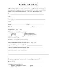 new babysitter job description for resume babysitter job what does designation mean on a resume vaneza co