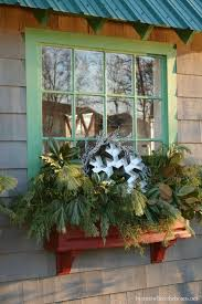 fantastic window wreaths lighted decorations