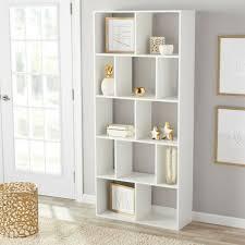 multi storage space bookcase wall unit