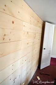 pros and cons of diy shiplap vs planked wood walls parison of both types of