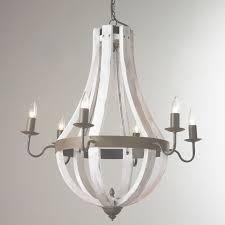 white wood chandelier designs