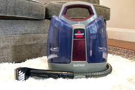 best small carpet shampooer a portable carpet cleaner on white in front of grey couch best best small carpet shampooer