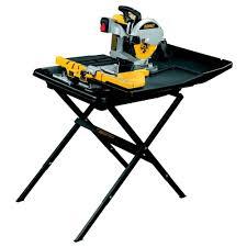 wet tile saw. dewalt d24000 slide table wet tile saw