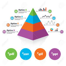 Pyramid Ppt Pyramid Chart Template Document Icons File Extensions Symbols