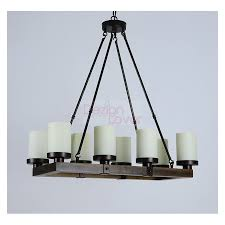 artcraft vintage antique wood rustic candle chandelier loading zoom