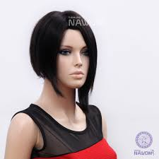 Wonder Woman Hair Style new 2014 free shipping 100 kanekalon black straight womens wig 1771 by wearticles.com