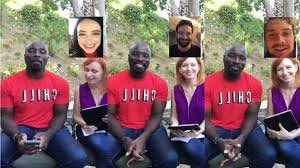 defenders stars charlie cox krysten ritter crash mike colter s defenders stars charlie cox krysten ritter crash mike colter s interview · great job internet · the a v club