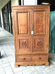 rustic armoire closet wardrobes wardrobe clothing