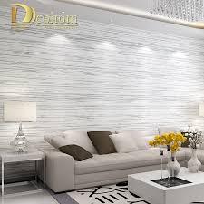 بسيطة الحديثة محكم أفقي مخطط للجدران غرفة المعيشة أريكة التلفزيون