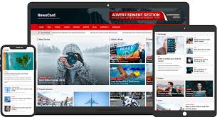 Wordpress Template Newspaper Newscard Free Multi Purpose Magazine News Wordpress Theme