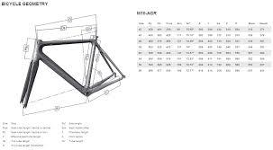 10 True Colnago M10 Size Chart