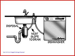 kitchen sink garbage disposal jammed unique dishwasher no plumbing inspiration of