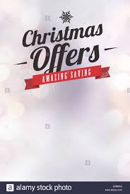 advent or christmas offer and advert poster or flyer advent or christmas offer and advert poster or flyer background empty space stock