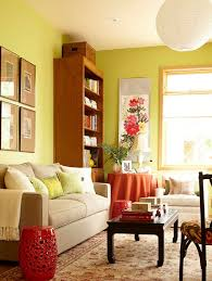 Wood Bookcases Colorful Accents. How Do You Decorate ...
