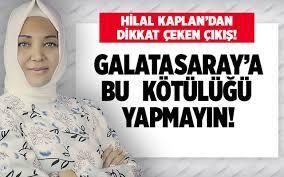 Hilal Kaplan'dan dikkat çeken çıkış! Galatasaray'a bu kötülüğü yapmayın!