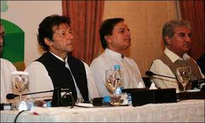 Chairman PTI Imran Khan Together With Parliamentary Board Of KPK