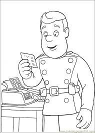 Small Picture Fireman Sam 26 Coloring Page Free Fireman Sam Coloring Pages