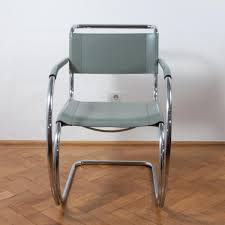 s533 cantilever chair by ludwig mies van der rohe for thonet 1970s