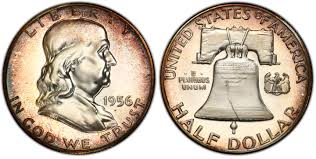 1956 50c Type 1 Proof Franklin Half Dollar Pcgs Coinfacts