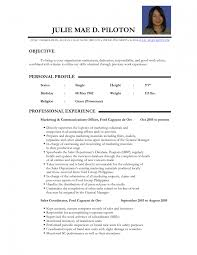 Sample Resume For Teachers Applicant Free Cover Letter Templates