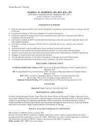 sample nursing resume for new graduate  resume for study