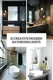 bathroom lighting contemporary. Swingeing Contemporary Bathroom Lighting Designer Creative Modern Ideas Vanity Light .