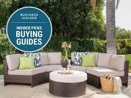 hampton bay wicker patio set elegant the best patio furniture you can business insider