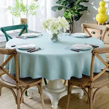 europe table cloth solid color round table cloth tablecloth dinner table cover for wedding home banquet