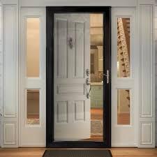 built in keyed lock storm doors