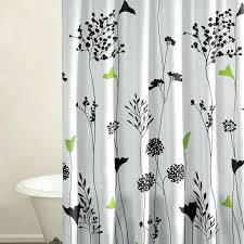 com threshold fl burnout shower curtain c white within