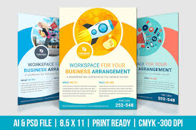digital marketing flyer flyer templates on creative market